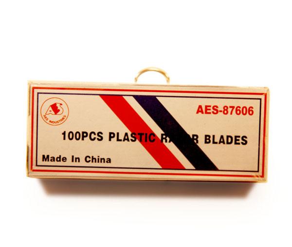 Лезвия запасные к GT 138 пластиковые