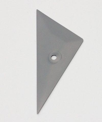 Скребок тефлоновый треугольный