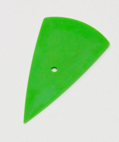 Скребок тефлоновый треугольный платиновый