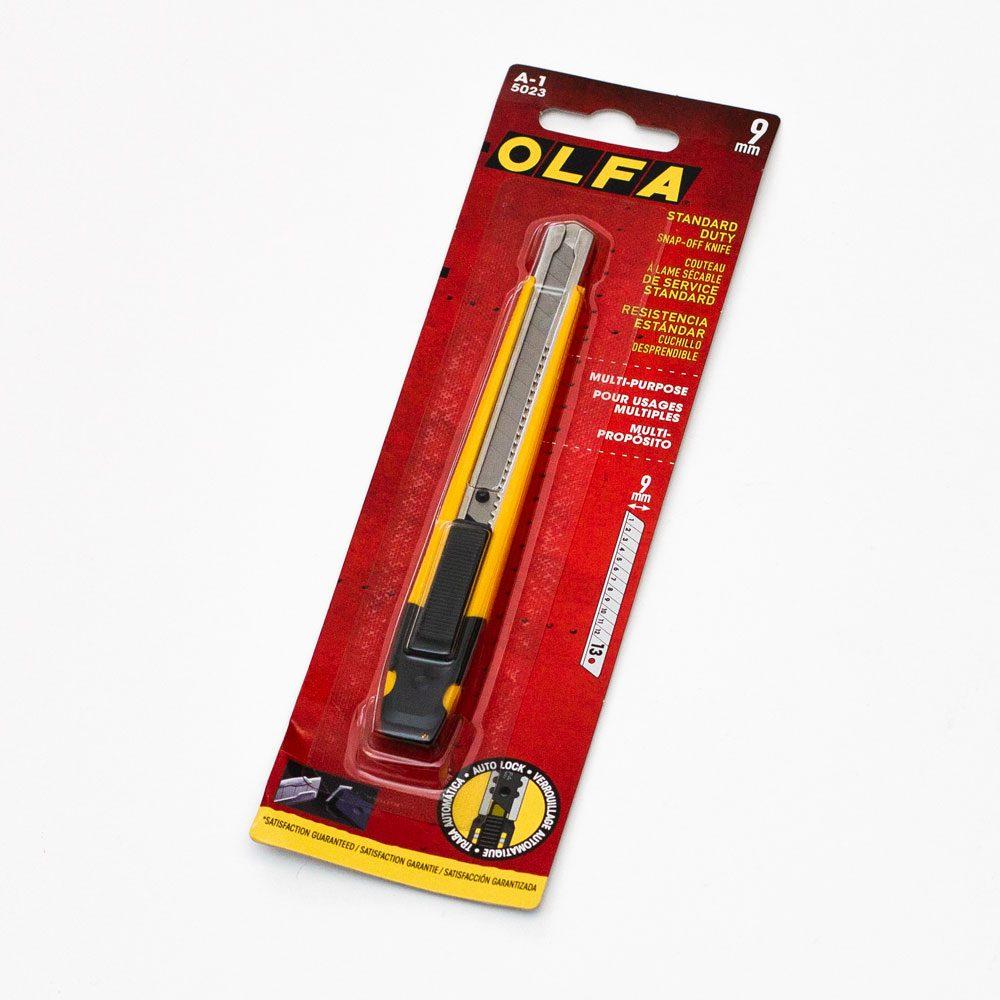 Нож с выдвижным лезвием Olfa, 9мм