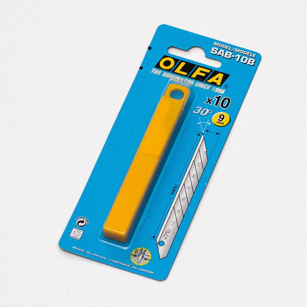 Лезвие сегментированное Olfa, 10 шт.