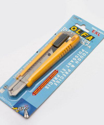 Нож с выдвижным лезвием Olfa с автофиксатором